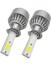 INTERNET 2x H1 7600LM Lámparas de haz de kit de faros de LED COB LED de b3a606831ef