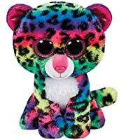 Carletto Ty, dotty, leopard with glitter eyes, beanie boos, colourful