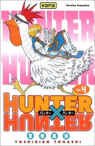 Hunter X Hunter Edition simple Tome 4