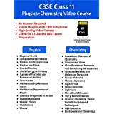 CBSE Class 11 Physics And Chemistry Complete Video Course SD Card