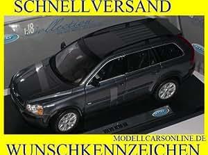 Volvo Xc90 Xc 90 Grau Grey Metallmodell 1/18 Welly Modellauto Modell Auto