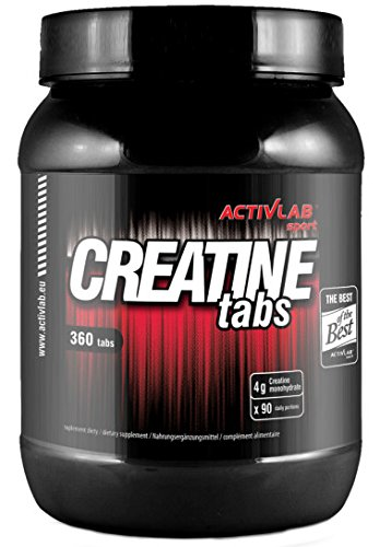 Activlab, Creatine Tabs, Orange, 1er Pack (1x 360 Tabletten)