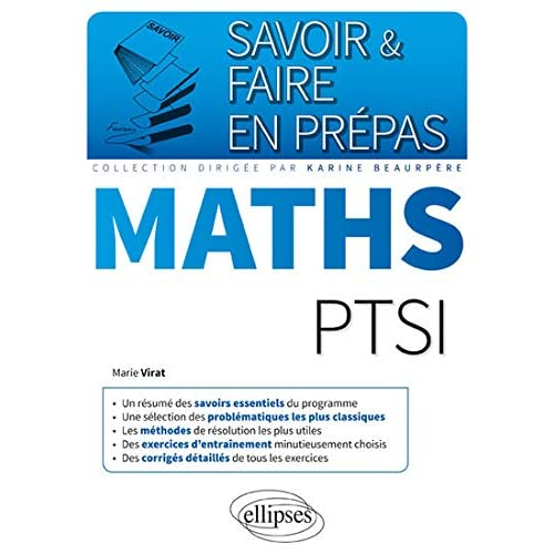 Savoir & Faire en Prépas Maths PTSI