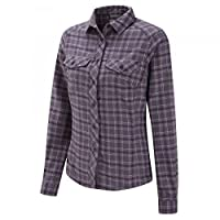 Craghoppers Womens Ladies Howley Checkered Lumberjacket Shirt in Dusk Dewberry Combo Size 8