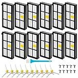 Filter ersetzen iRobot Roomba 860 980 960 880 890 870 801 861 864 894 961 964 Teile Zubehör Seitenbürsten- und Roomba-Unterdruckfilter Serie 800/900