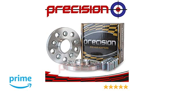 2AD01+10SB01126 Precision 15mm Wheel Adapter 5x100 Hub to 5x112 Wheel 1 Pair with Bolts Ṿolkswagen Polo Part No