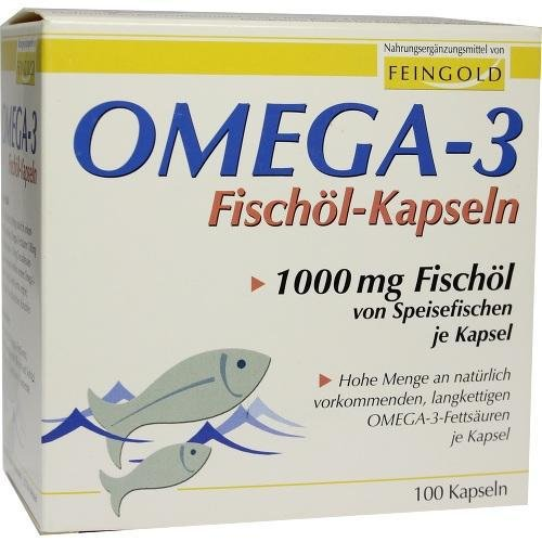 Preisvergleich Produktbild OMEGA 3 Fischöl Kapseln 100 St