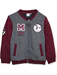 274682bb Disney Mickey Mouse Boys Warm Jumper, Baseball Quilted Jacket Sweatshirt  2-8 Years -