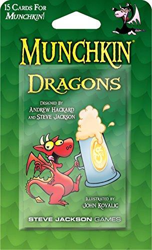 """Steve Jackson Games """"Munchkin Dragones"""" Juego de cartas"""