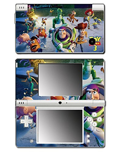 Toy Story 1 2 3 4 Buzz Lightyear Woody Mr Potato Head Rex Video Game Vinyl Decal Skin Sticker Cover for Nintendo DSi System by Vinyl Skin Designs