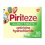 Piriteze Antihistamine Allergy Relief Tablets, Cetrizine 30s