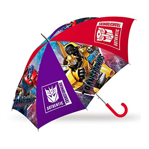 Kids Paraguas 45cm Automatico Transformers Paraguas