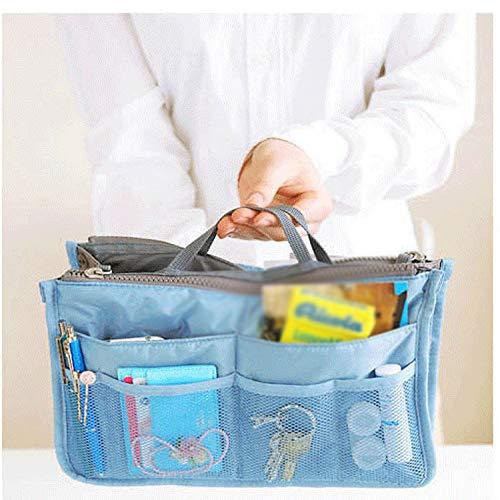 WETGVBCZGBF Storage Bag Insert Bag Ladies Nylon Travel Insert Storage Bag Handbag Wallet Ladies Mens Cosmetic Bag Handbag