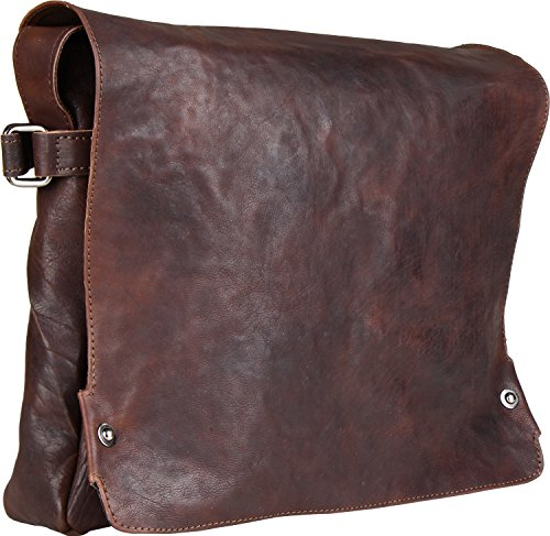 Harold's Pull Up borsa a tracolla pelle 36 cm rusty