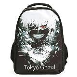 CoolChange Tokyo Ghoul Rucksack mit großem Ken Kaneki Motiv, Schwarz