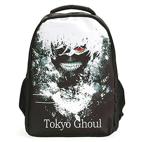 CoolChange sac à dos avec image de Ken Kaneki, noir