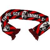 SC Freiburg Einmal SCF immer SCF Schal Fanschal (rot, one size)