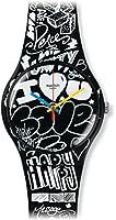 Swatch Reloj de cuarzo Unisex Love Wall 41 mm de Swatch