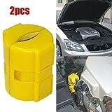 ZHUOTOP 1 par de ahorro de combustible magnético para coche, camión, barco, ahorro de combustible, 2 piezas
