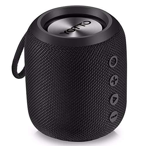 Badradio, tragbarer Bluetooth-Lautsprecher, wasserdichter drahtloser Lautsprecher - Bluetooth-Kabelradio - für Bad, Küche oder im Freien