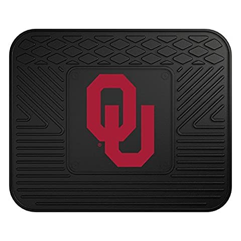 FANMATS NCAA University of Oklahoma Sooners Vinyl Utility Mat by Fanmats