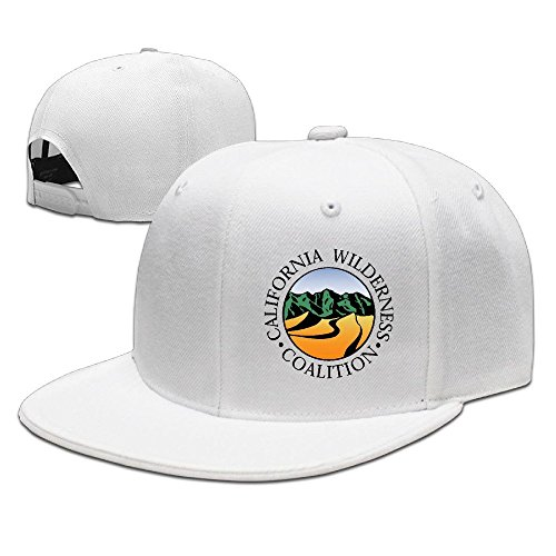 hittings-california-wilderness-coalition-new-summer-snapback-hats-plain-caps-white