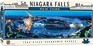Niagara Falls 1000pc Panoramic (National Parks and Cityscapes)