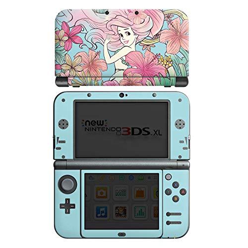 Skin kompatibel mit Nintendo New 3DS XL Aufkleber Sticker Folie Arielle Die Meerjungfrau Disney Princess