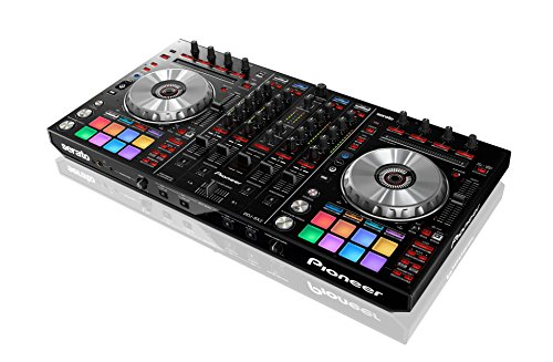 Pioneer DDJ-SX2 Controller 4 canali per software Serato Dj, Sistema All-in-One Nero