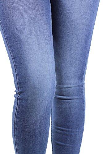 Levi's® Damen Jeans 710 Innovation Super Skinny Fit Summer Swagger Stretch Blau