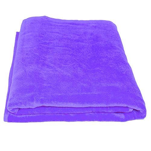 La Calla Türkisch Strandtuch-Übergroße 88,9cm von 152,4cm Duschtücher-100% Terry Velours Baumwolle-vielfachen Gebrauch für Strand und Bad Spa-Umweltfreundlich Material Violett - Moderne Handtuch-kollektion