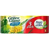 Green Giant Naturalmente Dulce Maíz Dulce Sin Sal Añadida (3X340g) (Paquete de 6)