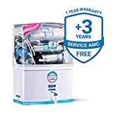 KENT Grand 8-Litres Wall-Mountable RO + UV/UF + TDS Controller (White) 15 ltr/hr