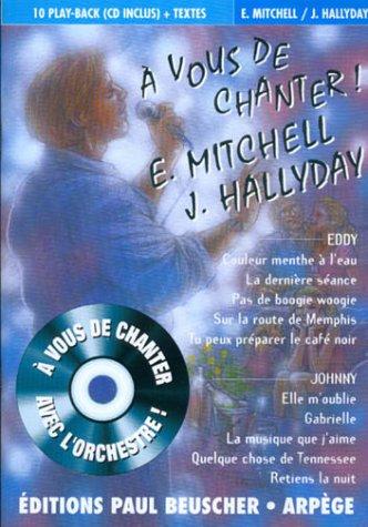 partition-a-vous-de-chanter-e-mitchell-j-hallyday-cd