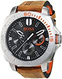 BOSS Orange Herren-Armbanduhr SAO PAULO Multieye Analog Quarz Leder 1513297