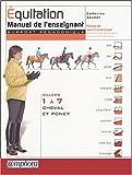 Equitation, galops 1 à 7 cheval et poney : Manuel de l'enseignant support pédagogique