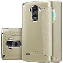 MYLB PU funda case cubierta cover para LG G4 Stylus/ G Stylo smartphone (Champagne oro)