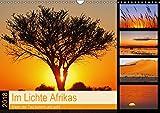Im Lichte Afrikas (Wandkalender 2018 DIN A3 quer): Wenn der Tag kommt und geht (Monatskalender, 14 Seiten ) (CALVENDO Natur) [Kalender] [Apr 01, 2017] Woyke, Wibke