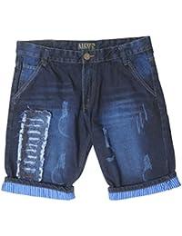 Krystle Boy's Cotton Stylish Fashionable Denim Shorts