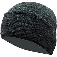 Gajraj Unisex Woolen Skull Cap (Grey_Free Size)