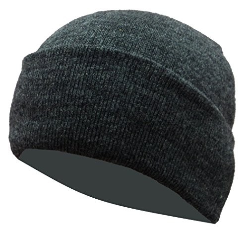 Gajraj Men's Skullies (GHF0501_Grey_Free Size)