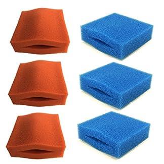 filter foams for oase biotec 5/10/30-6 pack (3 x coarse, 3 x medium) Filter Foams for Oase BioTec 5/10/30-6 Pack (3 x coarse, 3 x medium) 51M0TzvDptL