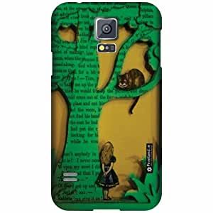 Printland Designer Back Cover For Samsung Galaxy S5 - Fashion Cases Cover
