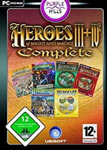 Heroes of Might & Magic III +IV - Complete [import allemand]