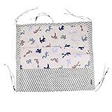 Baoblaze Baby Betttasche für Baby Bett, Utensilio, Wandaufbewahrung, Aufbewahrung fürs Kinderbett - Kraniche aus Papier