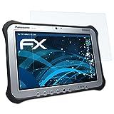atFolix Schutzfolie kompatibel mit Panasonic ToughPad FZ-G1 Panzerfolie, ultraklare & stoßdämpfende FX Folie (2X)
