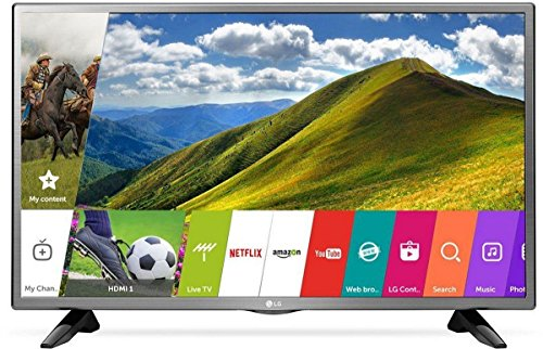 LG 80 cm (32 inches) HD Ready Smart LED TV 32LJ573D (Mineral Silver) (2017 Model) 1