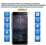 Dashmesh Shopping Nokia 6 Premium Tempered Glass Screen Protector Guard With FREE Installation Kit