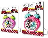 MINNIE - Reloj despertador de campanas de minnie mouse