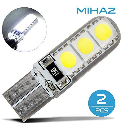 Preisvergleich Produktbild Mihaz 2X 5050 LED Glühlampen Warm White Energiesparlampen 6SMD Lighting Glühbirnen Allgemein Haushalt Silikon LED Glühlampen - 2x 6SMD 5050 LED